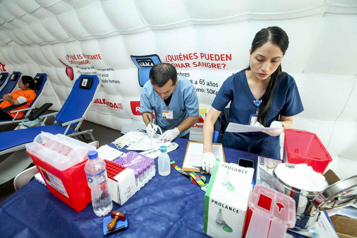 Abren primer centro de donación voluntaria de sangre para INEN