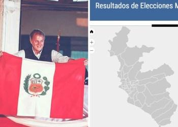 Jorge Muñoz obtiene 36.31% en resultados oficiales de ONPE al 96%
