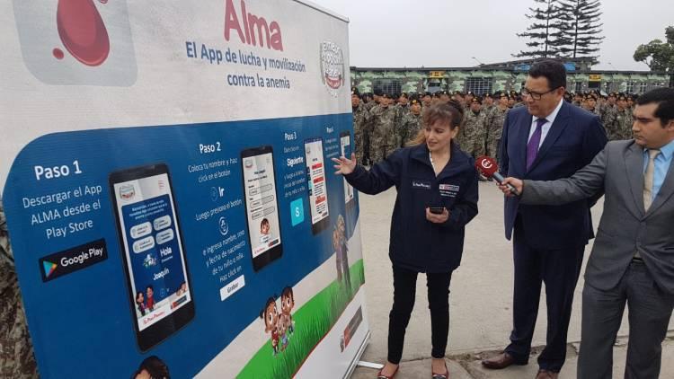 Lucha y movilízate contra la anemia con App que lanzó el Minsa