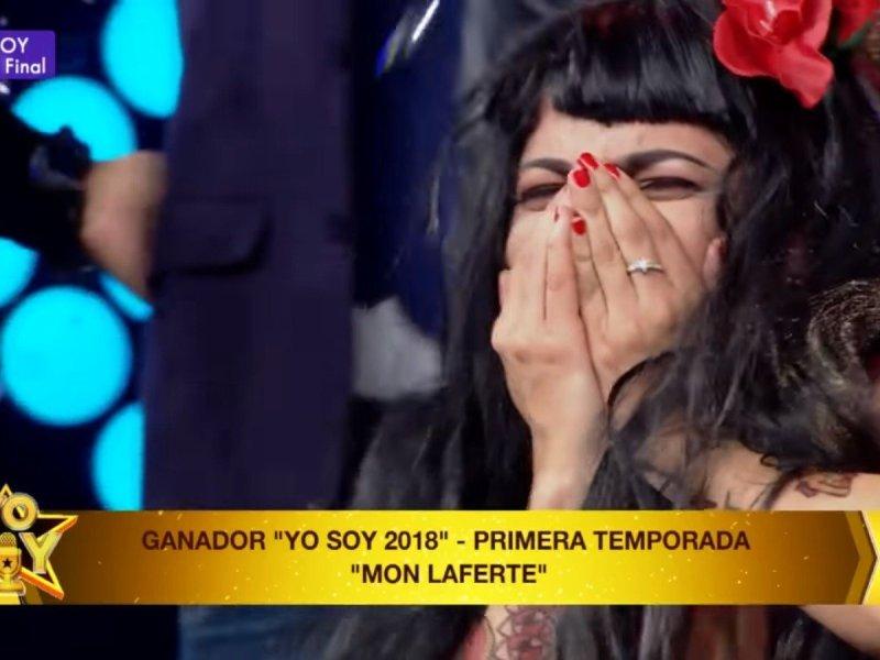 Imitadora de Mon Laferte gana primera temporada de Yo Soy 2018