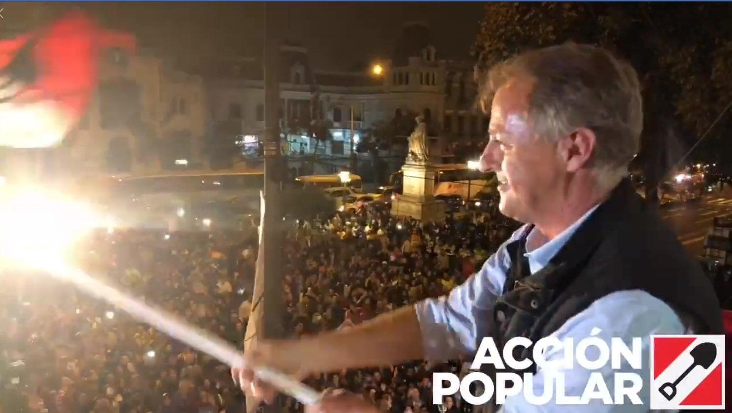 Jorge Muñoz es el alcalde de Lima