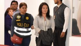 Keiko Fujimori detenida en Lima