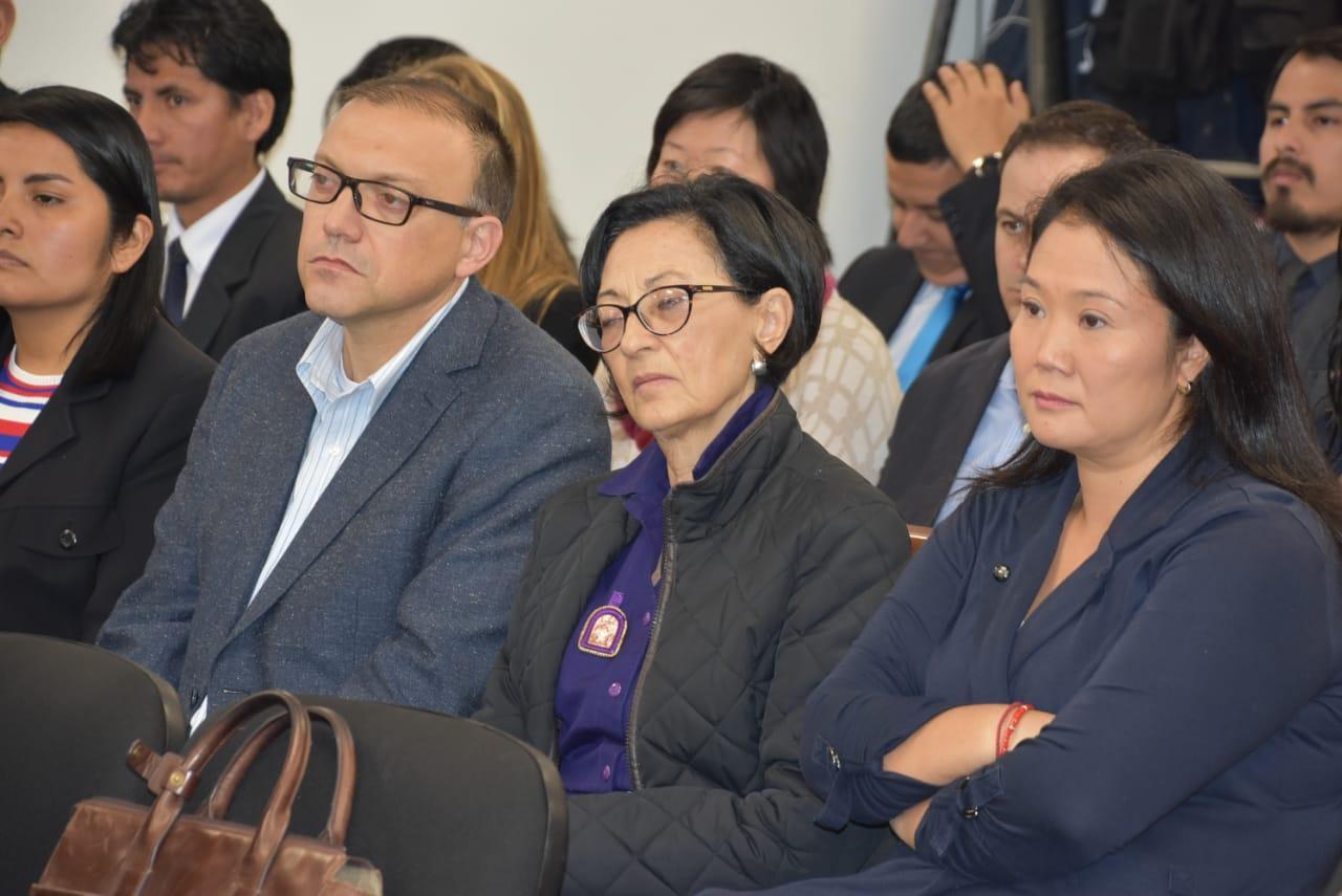 Keiko Fujimori e implicados en casos Cócteles