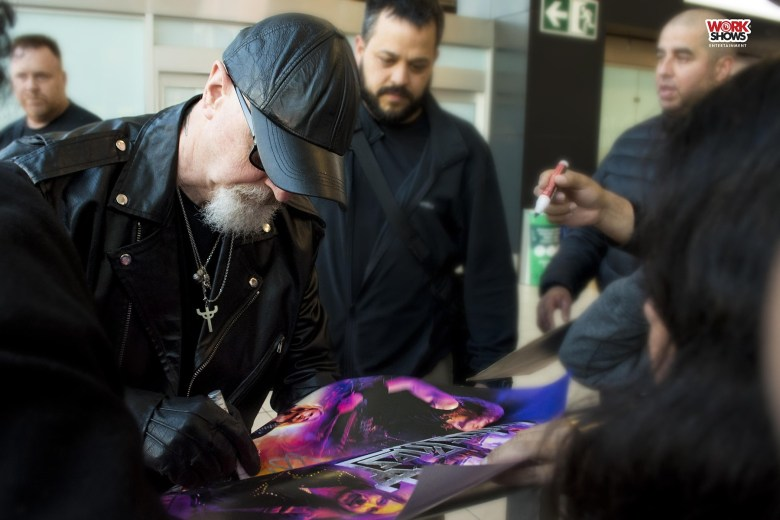 Judas Priest llegó a Lima por primera vez y en avión privado