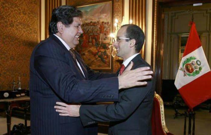 Alan García y Marcelo Odebrecht