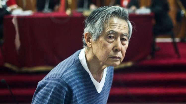 Alberto Fujimori en juicio