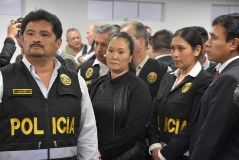 Keiko Fujimori se va 36 meses a prisión preventiva