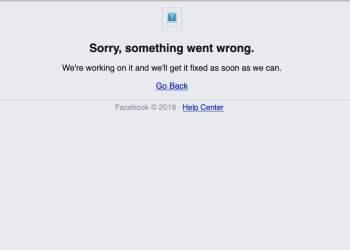 Facebook sufre nueva caída