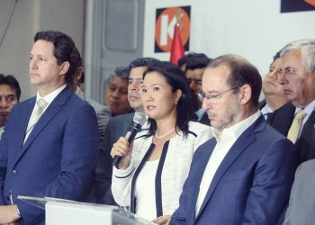 Keiko Fujimori y Daniel Salaverry