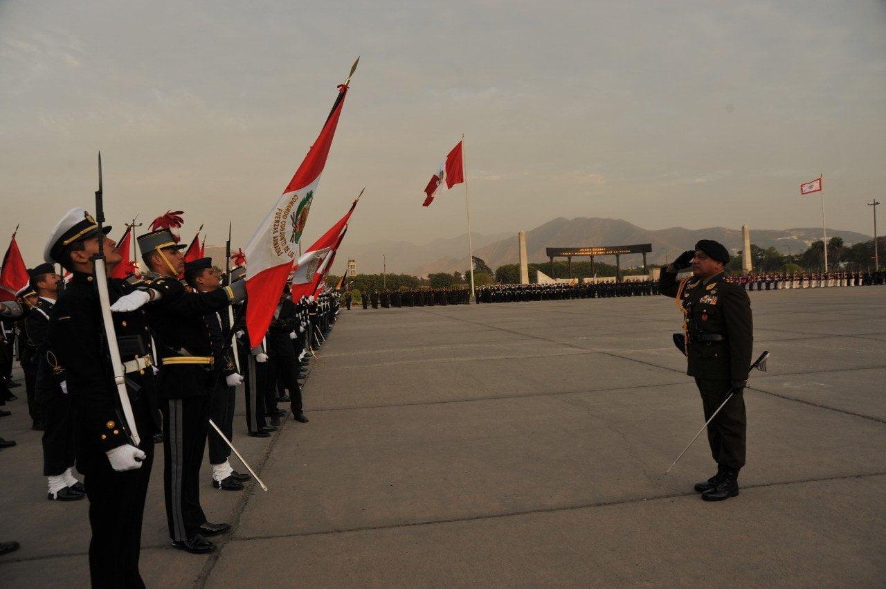 César Astudillo es nuevo Jefe del Comando Conjunto de las Fuerzas Armadas