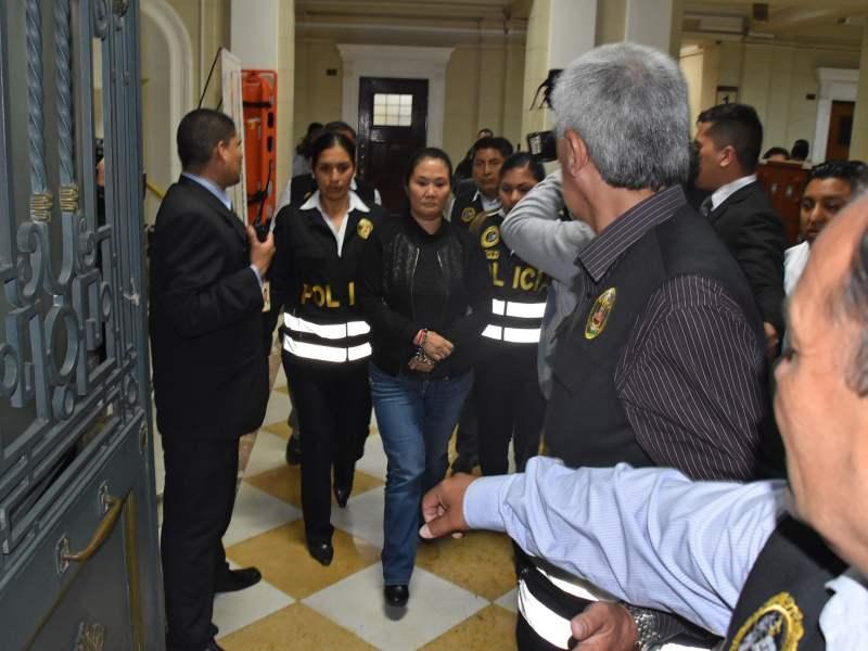 INPE decide a que penal trasladará a Keiko Fujimori para prisión preventiva