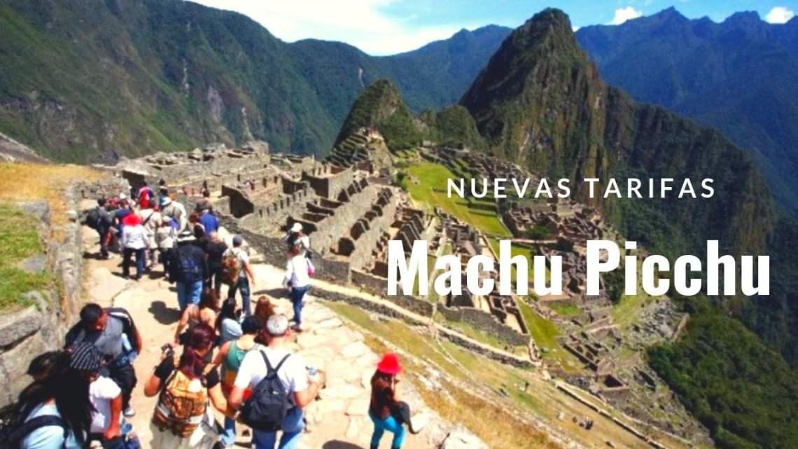 Machu Picchu: norma con nuevas tarifas para turistas fue publicada