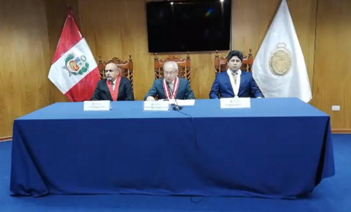 Pedro Chávarry retiró del caso Odebrecht a fiscales Domingo Pérez y Vela
