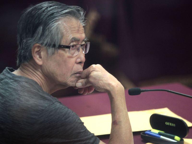 PJ: Alberto Fujimori debe seguir su tratamiento médico en prisión