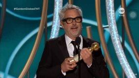 Alfonso Cuarón ganador de Los Globos de Oro