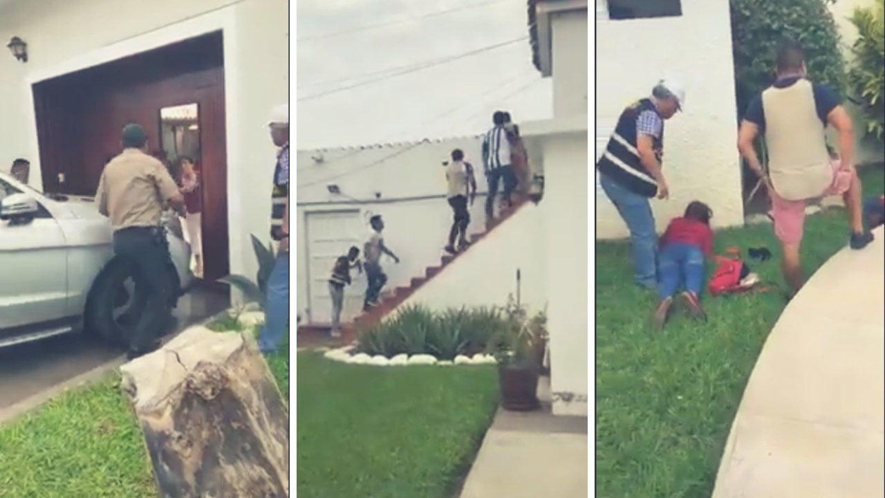 Video   Así capturaron a venezolanos que asaltaban residencia en Trujillo