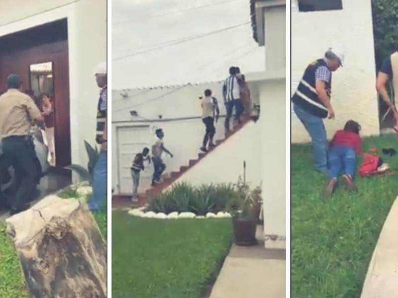 Video | Así capturaron a venezolanos que asaltaban residencia en Trujillo