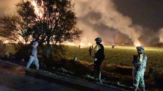 Explosión en Hidalgo México