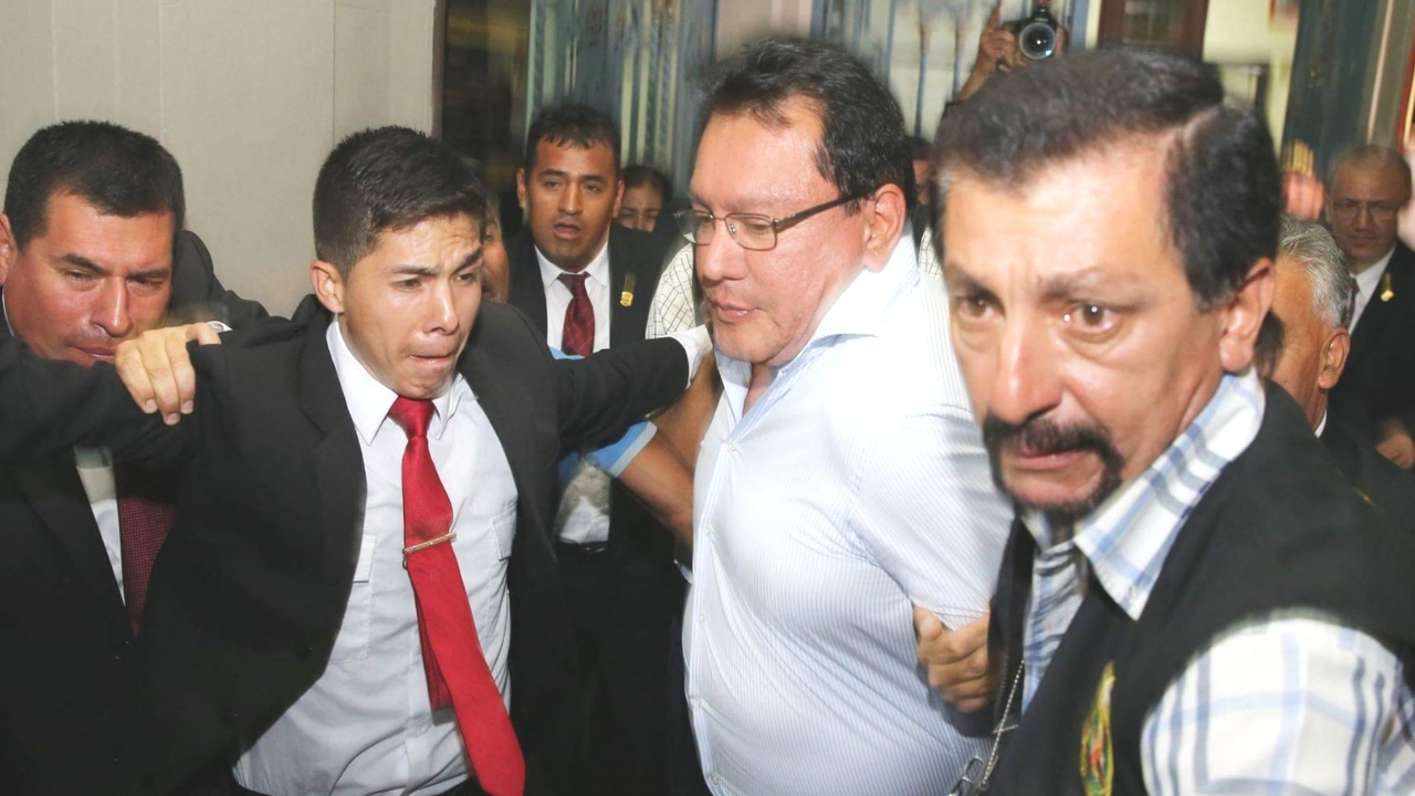 Félix Moreno condenado a cinco años de cárcel por caso Fundo Oquendo