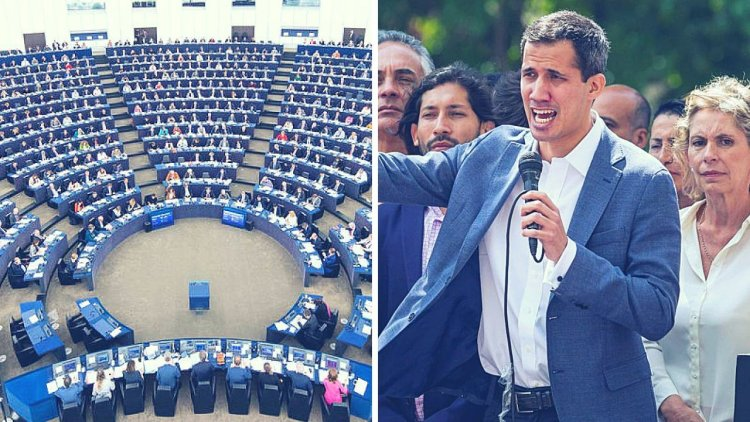 Parlamento Europeo reconoce a Juan Guaidó como presidente interino