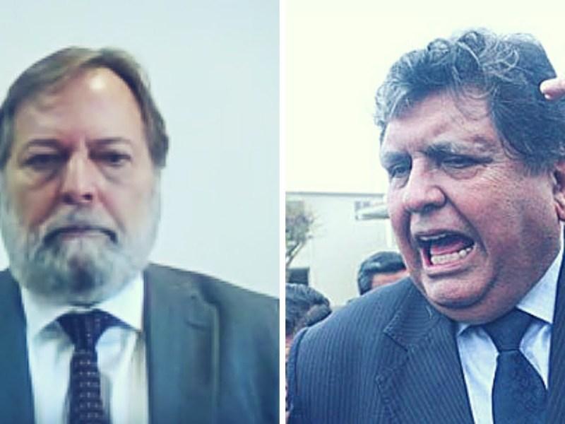 Alan García y Marcos de Queiroz Grillo