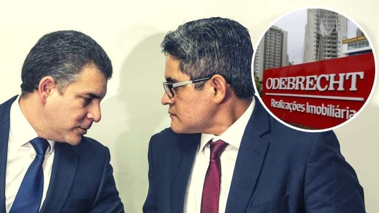 Rafael Vela y José Domingo Pérez