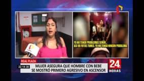 Mujer que se negó a ceder el ascensor a hombre con bebé se disculpó