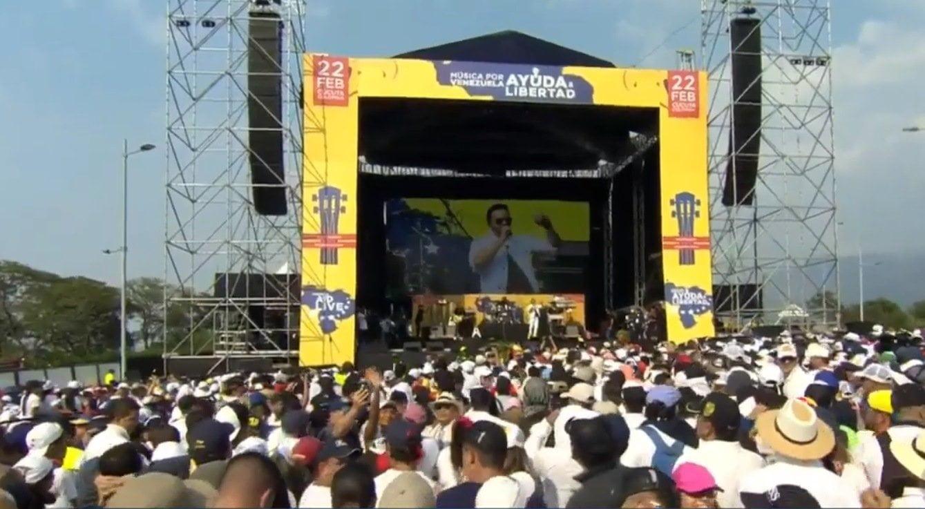 Concierto Venezuela Aid Live EN VIVO por la libertad del pueblo venezolano