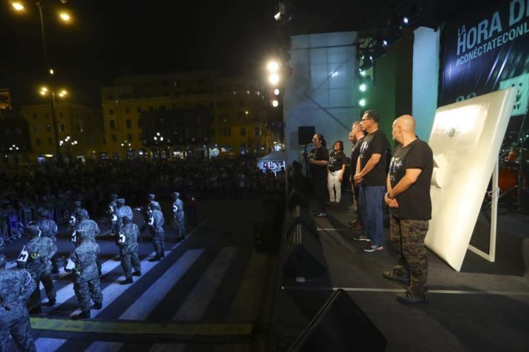 La Hora del Planeta: Así participaron el presidente y el alcalde de Lima