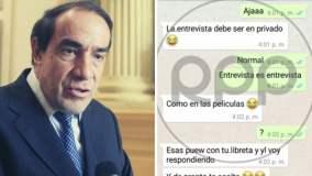 Aparecen más chats de acoso sexual de Yonhy Lescano contra periodista