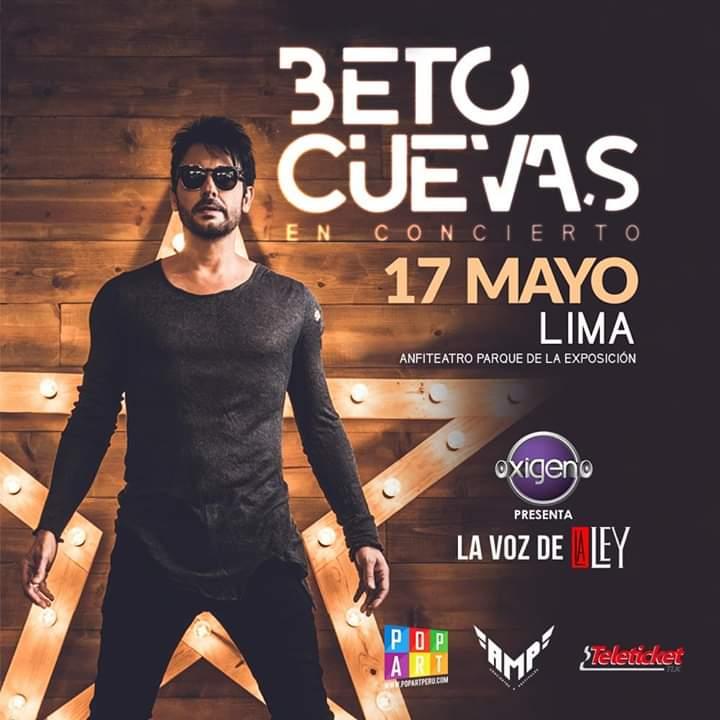 Beto Cuevas regresa a Lima como solista pero con éxitos de La Ley
