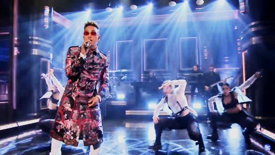 Ozuna se presentó en 'The Tonight Show Starring Jimmy Fallon'