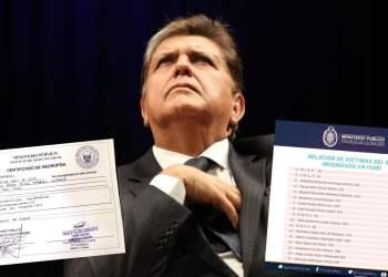 Aclaran dudas sobre médico legista que firmó necropsia de Alan García