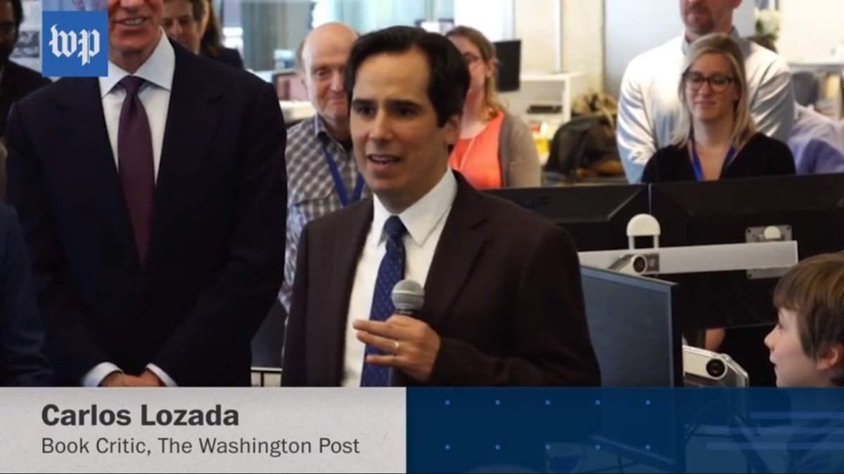Peruano Carlos Lozada ganó premio Pulitzer y así celebró The Washington Post