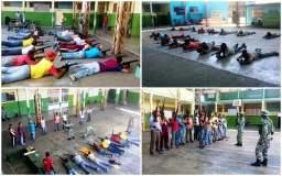 Chavistas entrenan a civiles armados para supuesta guerra contra EEUU