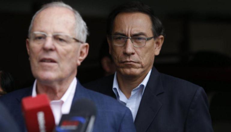 PPK recibió visita del presidente Martín Vizcarra en clínica