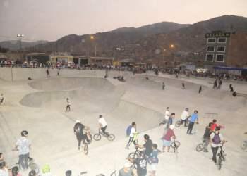 Skatepark más grande de Lima es inaugurado en Manchay