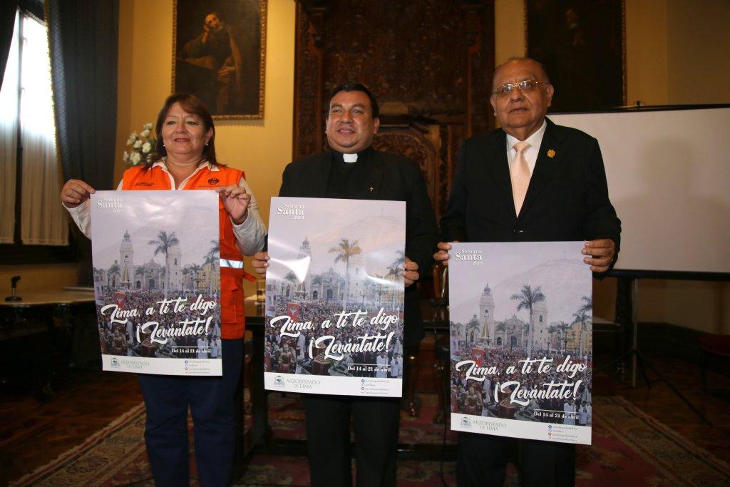 Semana Santa 2019: Aquí las actividades del Arzobispado de Lima