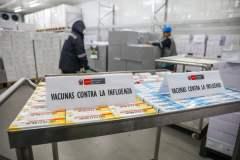 Vacunas fueron distribuídas por el Minsa