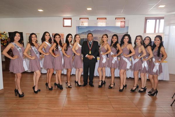 Bellas candidatos de Cerro Colorado