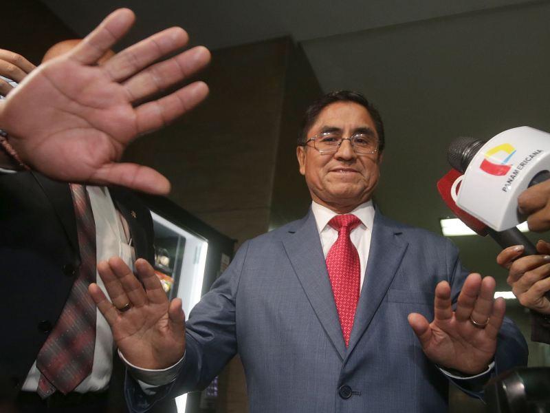 César Hinostroza será extraditado pero no como líder de organización criminal