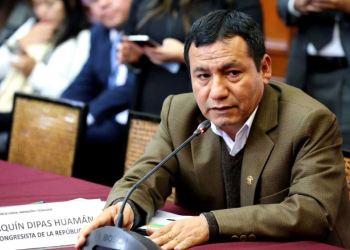 Congresista fujimorista Joaquín Dipas condenado a 5 años de prisión