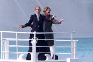 Céline Dion volvió al Titanic para cantar 'My Heart Will Go On' con James Corden