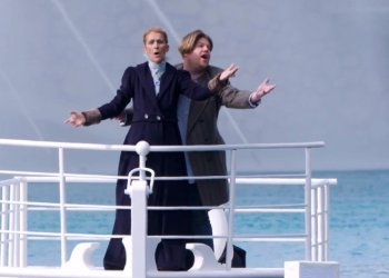 Céline Dion volvió al Titanic y canta 'My Heart Will Go On' con James Corden