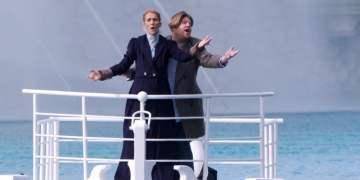 Céline Dion volvió al Titanic y canta 'My Heart Will Go On' con James Corden