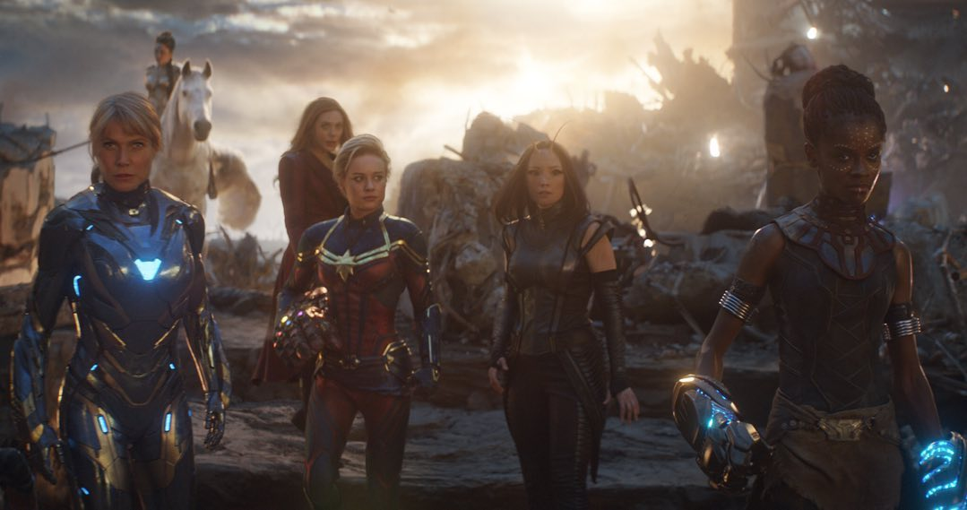 Las heroínas de los Avengers
