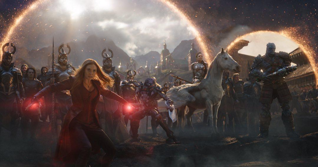 Los poderes de los Avengers en su batalla final