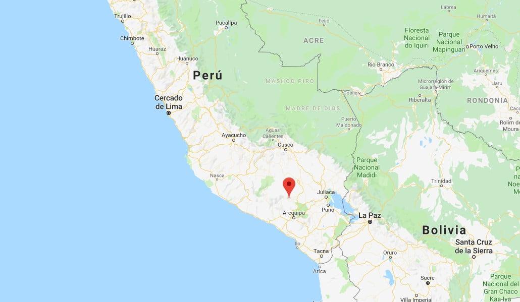 Sismo de 3.4 grados se registró en Arequipa esta madrugada