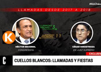 Revelan nexo y llamadas entre Fujimorismo, Apra, César Hinostroza y CNM