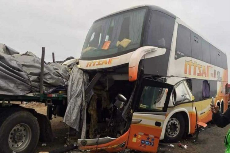 Accidentes de tránsito provocan muerte de 4,300 peruanos cada año